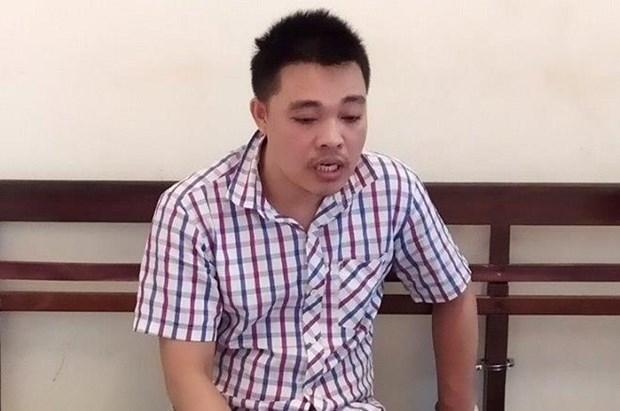 Hà Nội: Bắt đối tượng kề dao vào cổ nhân viên cửa hàng tạp hóa để cướp 1 triệu đồng - Ảnh 1