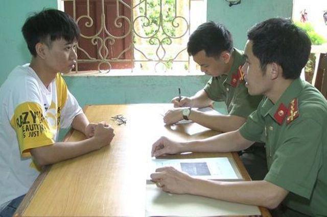 Xử phạt nam thanh niên tung tin sai sự thật về lãnh đạo công an huyện trên Facebook - Ảnh 1