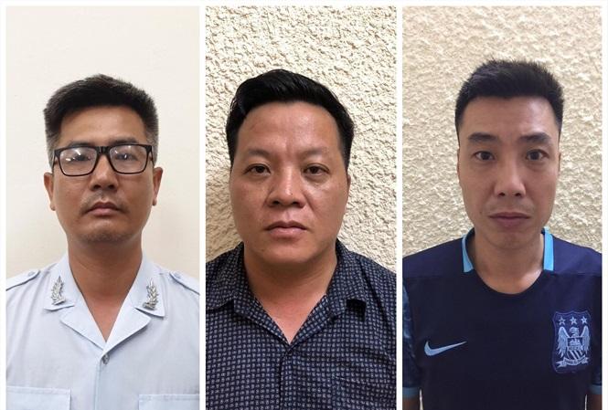 Hà Nội: Bắt 3 đối tượng giả danh phóng viên, cưỡng đoạt tài sản của hơn 20 doanh nghiệp - Ảnh 1