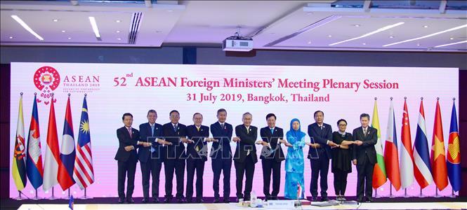 Hội nghị AMM - 52: Hội nghị Bộ trưởng Ngoại giao ASEAN với Trung Quốc - Ảnh 1