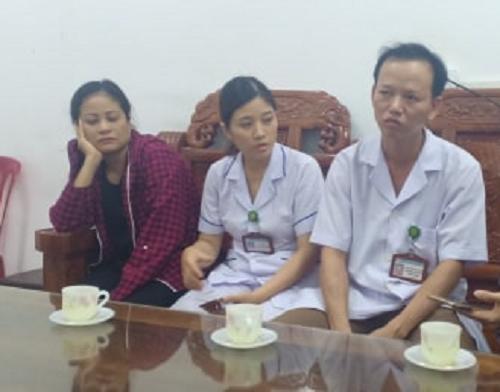 Vụ bé sơ sinh tử vong có vết đứt trên cổ ở Hà Tĩnh: Đình chỉ bác sỹ khoa Răng - Hàm - Mặt - Ảnh 1