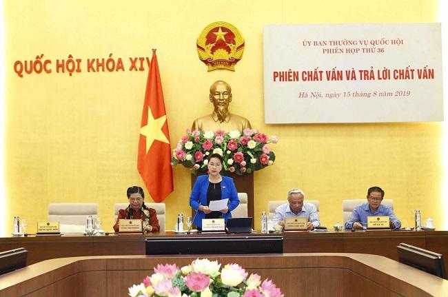Thường vụ Quốc hội giám sát 'lời hứa' của 15 bộ trưởng, tư lệnh ngành - Ảnh 1