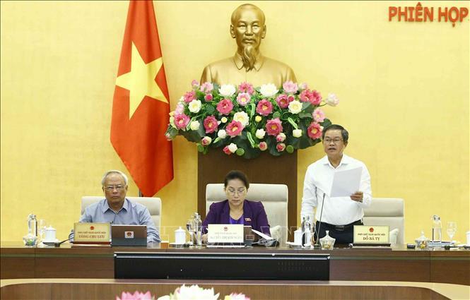 Bế mạc Phiên họp thứ 36 của Ủy ban Thường vụ Quốc hội - Ảnh 2