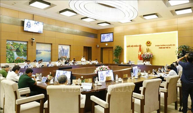 Bế mạc Phiên họp thứ 36 của Ủy ban Thường vụ Quốc hội - Ảnh 3