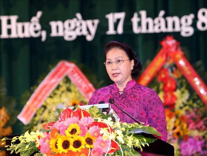 Chủ tịch Quốc hội dự Lễ Kỷ niệm 30 năm Ngày tái lập tỉnh Thừa Thiên Huế - Ảnh 1