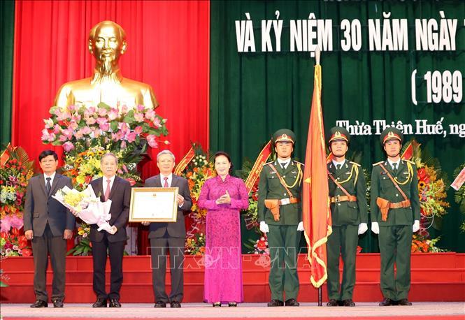 Chủ tịch Quốc hội dự Lễ Kỷ niệm 30 năm Ngày tái lập tỉnh Thừa Thiên Huế - Ảnh 3