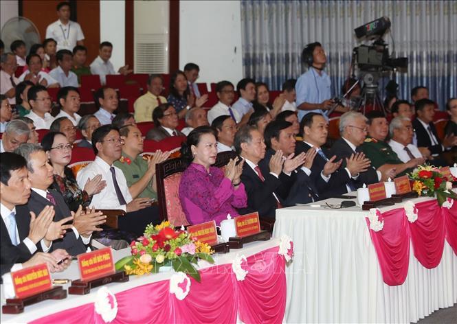 Chủ tịch Quốc hội dự Lễ Kỷ niệm 30 năm Ngày tái lập tỉnh Thừa Thiên Huế - Ảnh 4