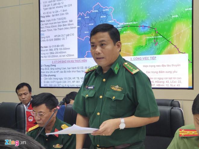 Mất liên lạc với 14 tàu cá Quảng Bình vào Trung Quốc tránh bão số 3 - Ảnh 1