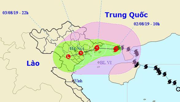 Mất liên lạc với 14 tàu cá Quảng Bình vào Trung Quốc tránh bão số 3 - Ảnh 2