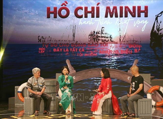 Chương trình giao lưu 'Hồ Chí Minh - Hành trình khát vọng' - Ảnh 2