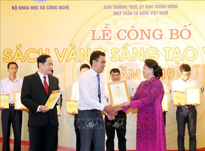 Lễ công bố Sách vàng Sáng tạo Việt Nam năm 2019 - Ảnh 3