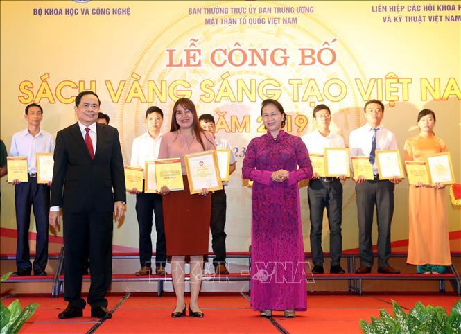 Lễ công bố Sách vàng Sáng tạo Việt Nam năm 2019 - Ảnh 4
