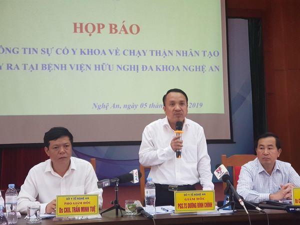 Vụ sự cố chạy thận nhân tạo tại Nghệ An: Nguyên nhân từ hệ thống nước - Ảnh 1