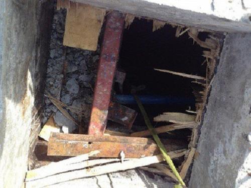 Thanh Hóa: Dỡ cốt pha dưới tầng hầm khách sạn, 2 công nhân tử vong - Ảnh 1