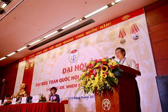 Đại hội Đại biểu Hội Luật gia Việt Nam lần thứ XIII: Nhiều nội dung quan trọng trong phiên thứ Nhất - Ảnh 3