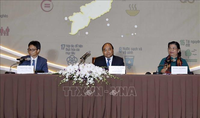 Thủ tướng Nguyễn Xuân Phúc chủ trì Hội nghị toàn quốc về Phát triển bền vững 2019 - Ảnh 4