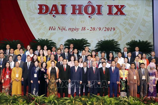 Khai mạc trọng thể Đại hội đại biểu toàn quốc Mặt trận Tổ quốc Việt Nam lần thứ IX - Ảnh 1