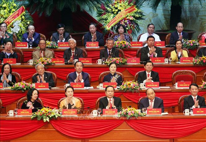 Khai mạc trọng thể Đại hội đại biểu toàn quốc Mặt trận Tổ quốc Việt Nam lần thứ IX - Ảnh 2