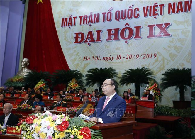 Khai mạc trọng thể Đại hội đại biểu toàn quốc Mặt trận Tổ quốc Việt Nam lần thứ IX - Ảnh 3
