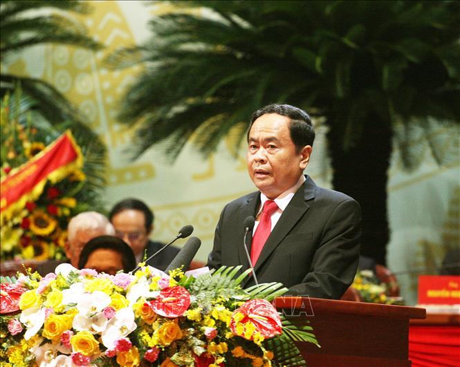 Khai mạc trọng thể Đại hội đại biểu toàn quốc Mặt trận Tổ quốc Việt Nam lần thứ IX - Ảnh 4