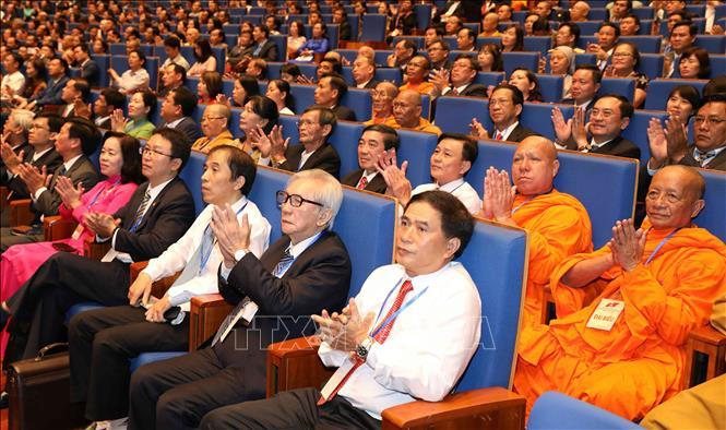 Khai mạc trọng thể Đại hội đại biểu toàn quốc Mặt trận Tổ quốc Việt Nam lần thứ IX - Ảnh 6