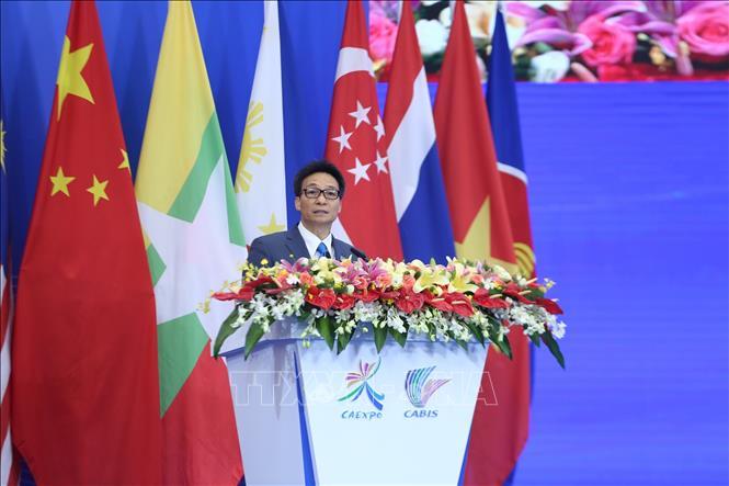 Phó Thủ tướng Vũ Đức Đam dự Hội nghị Thượng đỉnh thương mại-đầu tư Trung Quốc-ASEAN - Ảnh 1