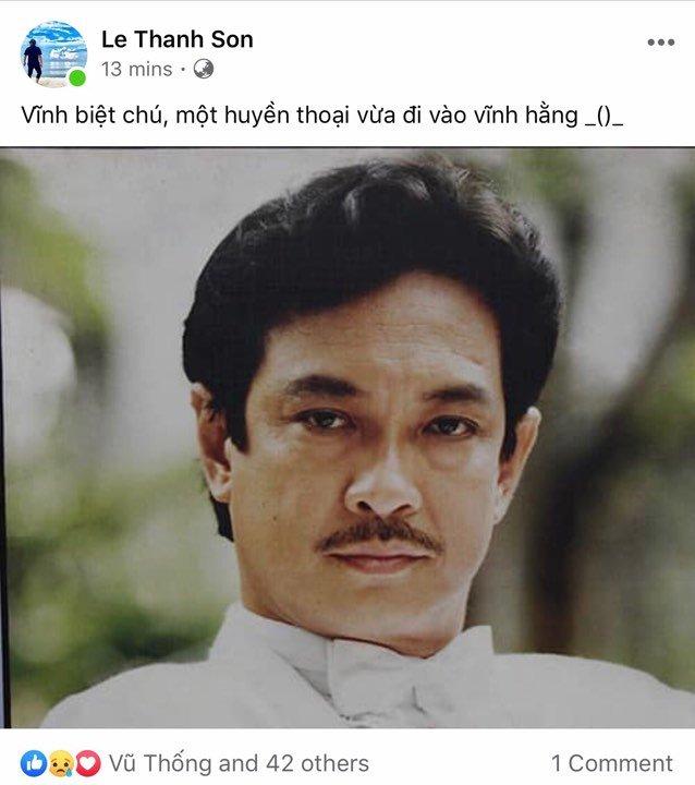 Nghệ sĩ Việt tiếc thương, gửi lời chia buồn tới gia đình NSƯT Chánh Tín - Ảnh 2