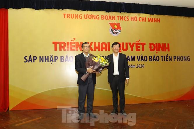 Sáp nhập báo Sinh viên Việt Nam vào báo Tiền Phong - Ảnh 1