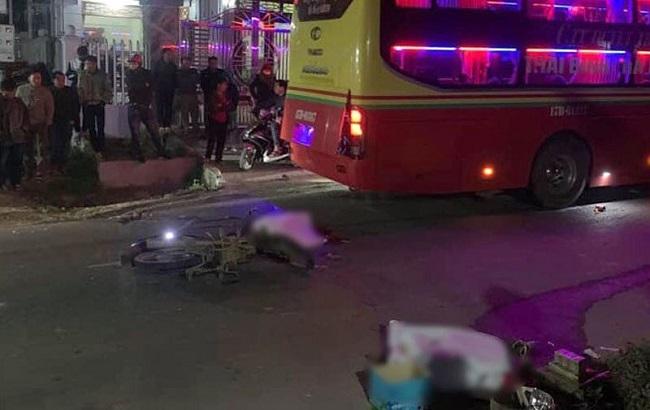 Tin tai nạn giao thông mới nhất ngày 20/2/2020: Va chạm với ô tô, 2 người đi xe máy tử vong tại chỗ - Ảnh 1