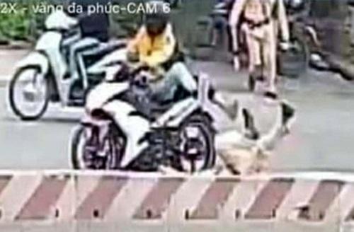 Vụ đôi nam nữ vượt đèn đỏ tông gục CSGT: Công an Hà Nội tìm nhân chứng cung cấp thông tin - Ảnh 2