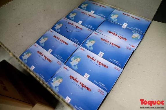 Hà Nội: Phát hiện đối tượng Trung Quốc thu gom 100.000 khẩu trang y tế không rõ nguồn gốc - Ảnh 2