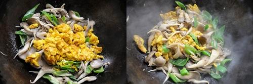 Nấm sò xào trứng bổ dưỡng cho bữa tối - Ảnh 4