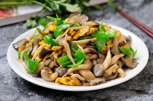 Nấm sò xào trứng bổ dưỡng cho bữa tối - Ảnh 5