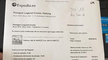 Vụ khách Tây Ban Nha bị lừa ở Hạ Long: Truy tìm 'con tàu ma' - Ảnh 2