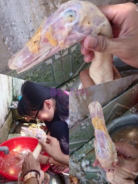 Không thể nhịn cười với thanh niên trổ tài làm món 'gà chết cháy thất truyền của Ngưu Ma Vương' đãi bố mẹ vợ - Ảnh 4