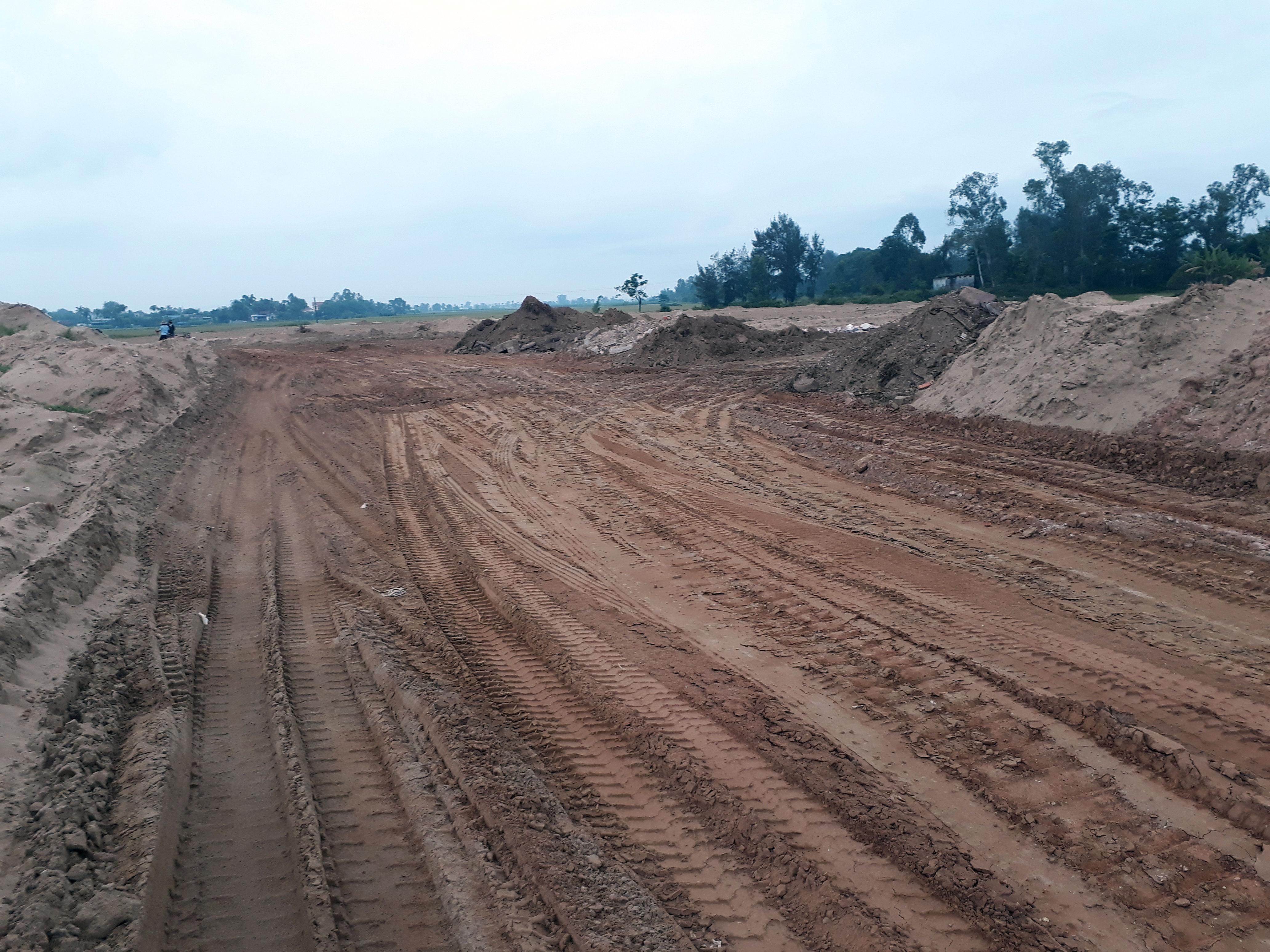 Dự án Tiên Trang Thanh Hóa: Người dân mất đất, các cơ quan chức năng vẫn chưa có biện pháp xử lí - Ảnh 1