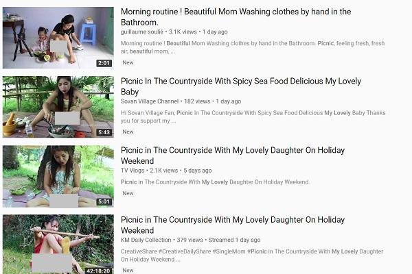Sốc: Hàng loạt nội dung khiêu dâm trá hình video cho trẻ tràn lan trên Youtube - Ảnh 1