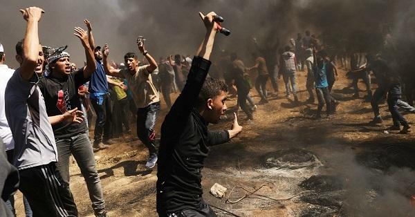 Israel không kích 25 cứ điểm của quân Hồi giáo Hamas trên dải Gaza - Ảnh 1