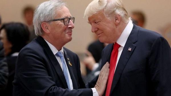 EU áp thuế với hàng xuất khẩu Mỹ để đáp trả Tổng thống Trump - Ảnh 1