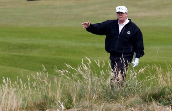 Tổng thống Trump đến nghỉ tại resort riêng, Nhà Trắng vẫn phải trả hơn 1 tỷ - Ảnh 1