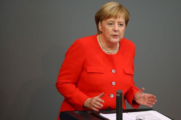 Thủ tướng Merkel: Đức sẽ không bỏ qua nếu Syria sử dụng vũ khí hóa học - Ảnh 1