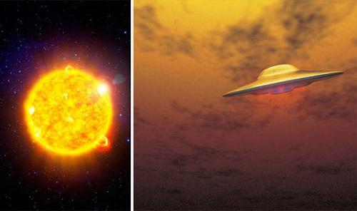 Phát hiện UFO bay ngang qua Mặt Trời mà không bị đốt cháy? - Ảnh 1