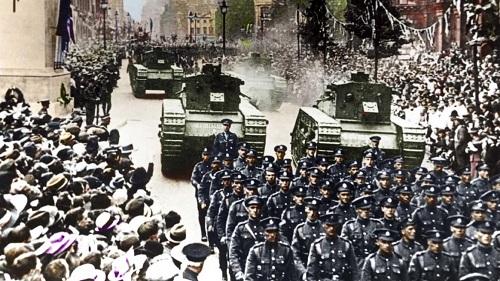 Tiết lộ những bức ảnh màu hiếm hoi về khoảng khắc lịch sử trong Thế chiến thứ I  - Ảnh 1