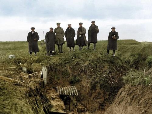 Tiết lộ những bức ảnh màu hiếm hoi về khoảng khắc lịch sử trong Thế chiến thứ I  - Ảnh 4