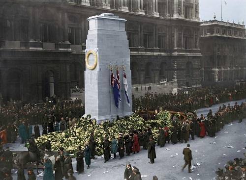 Tiết lộ những bức ảnh màu hiếm hoi về khoảng khắc lịch sử trong Thế chiến thứ I  - Ảnh 5