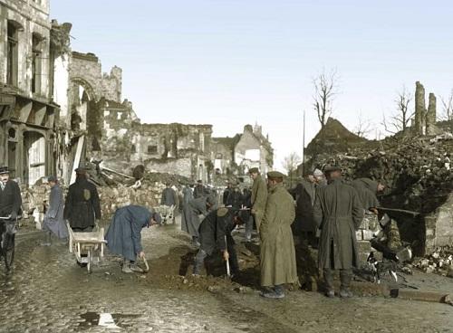Tiết lộ những bức ảnh màu hiếm hoi về khoảng khắc lịch sử trong Thế chiến thứ I  - Ảnh 6