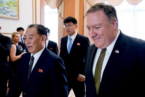 Cựu trùm tình báo Triều Tiên đến New York gặp Ngoại trưởng Mỹ - Ảnh 1