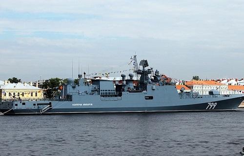 Nga triển khai tàu chiến mang tên lửa hành trình mới đến sát Syria - Ảnh 1