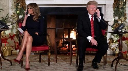Tổng thống Trump hỏi cậu bé 7 tuổi còn tin vào ông già Noel không - Ảnh 1