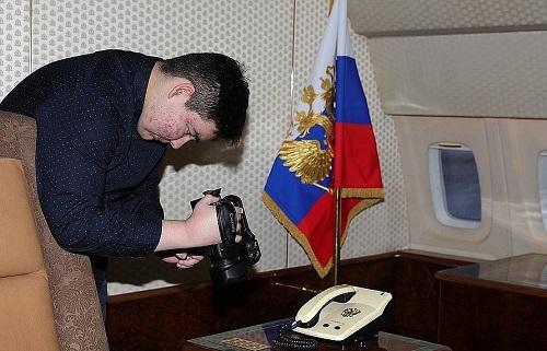 Điều ước thành sự thật: Thiếu niên 15 tuổi được ông Putin mời tham quan chuyên cơ - Ảnh 1
